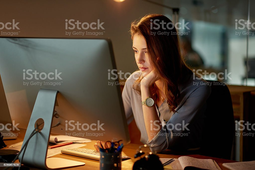 The deadline comes first stock photo