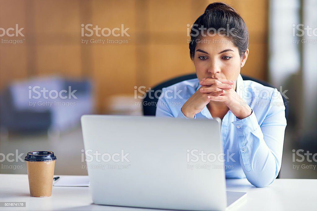 The deadline is looming... stock photo