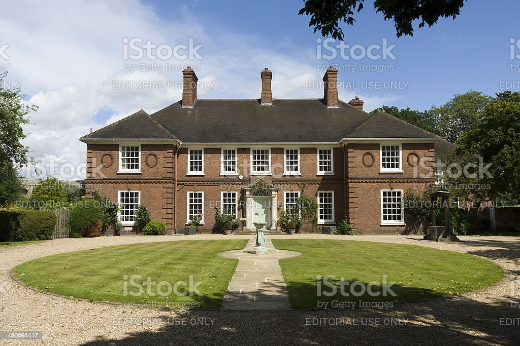 The Deanery stock photo