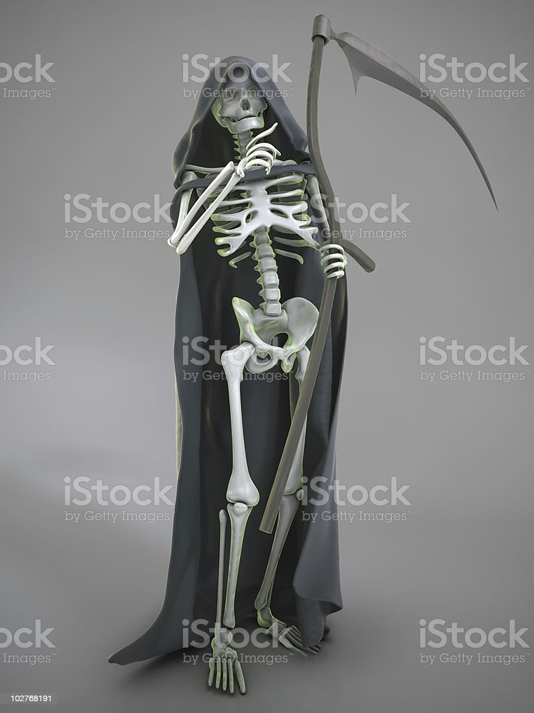 the death choosing its victim royalty-free stock photo