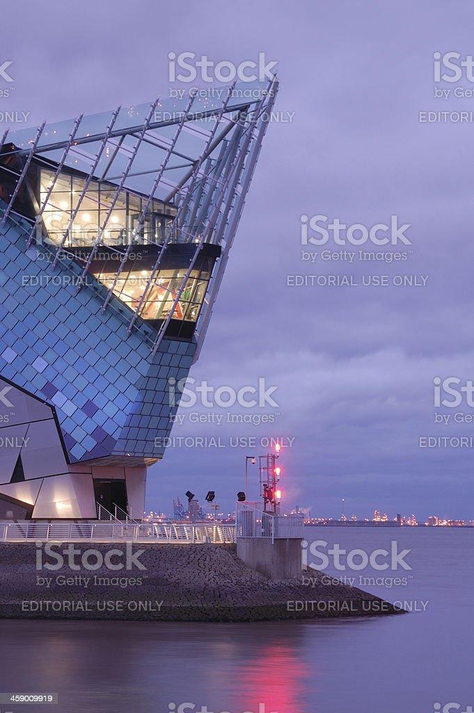 The Deep, Hull stock photo