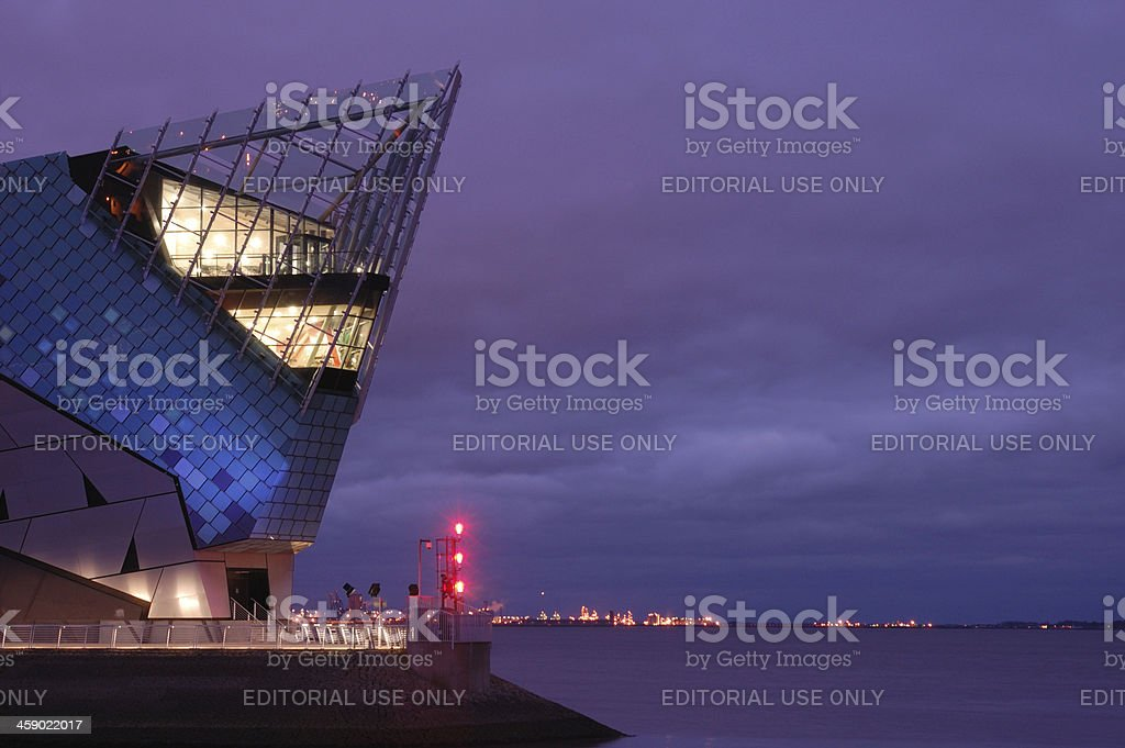 The Deep, Hull royalty-free stock photo