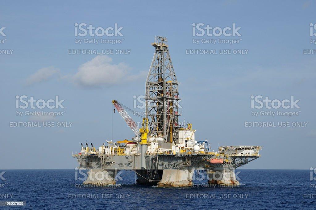 The Deepwater Horizon stock photo