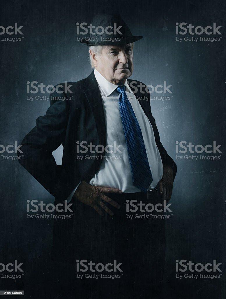 the detective stock photo