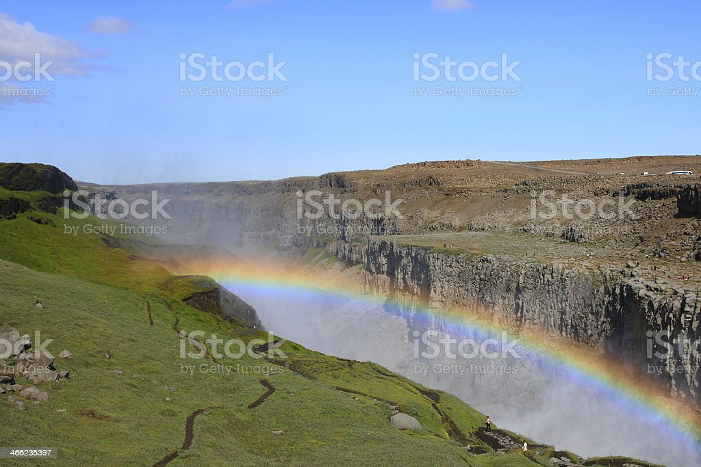 The Dettifoss stock photo