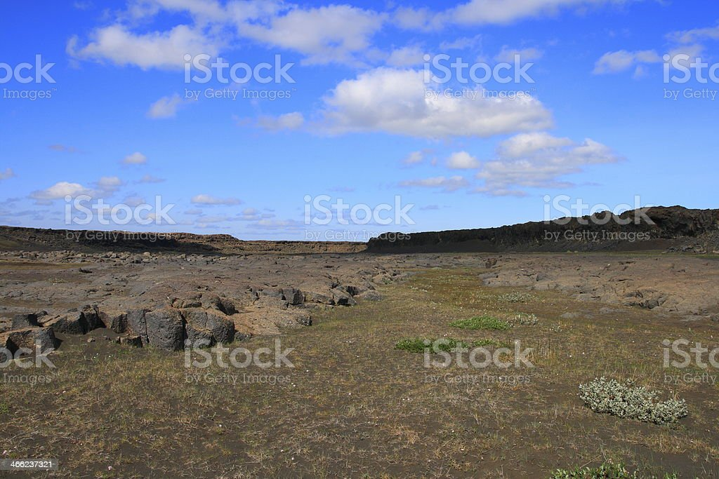 The Dettifoss royalty-free stock photo