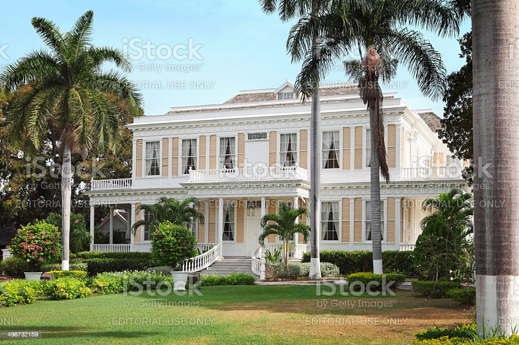 The Devon House in Kingston stock photo