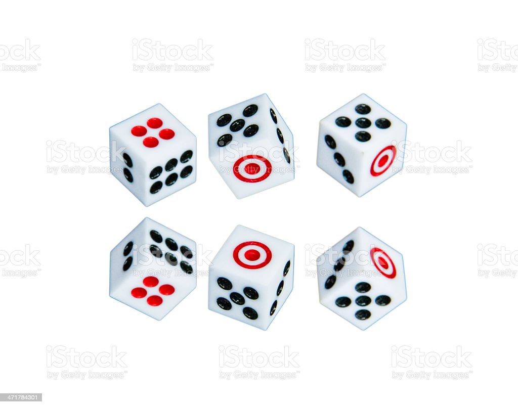 The  dices royalty-free stock photo