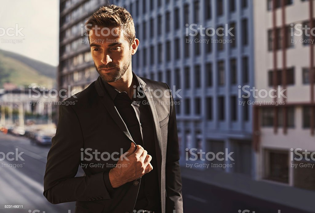 The difference between style and fashion is quality stock photo