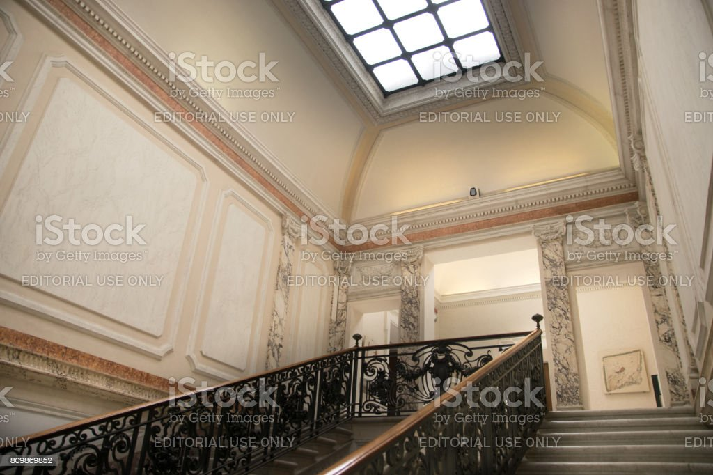 The Diocletian Baths Museum in Rome, Italy stock photo