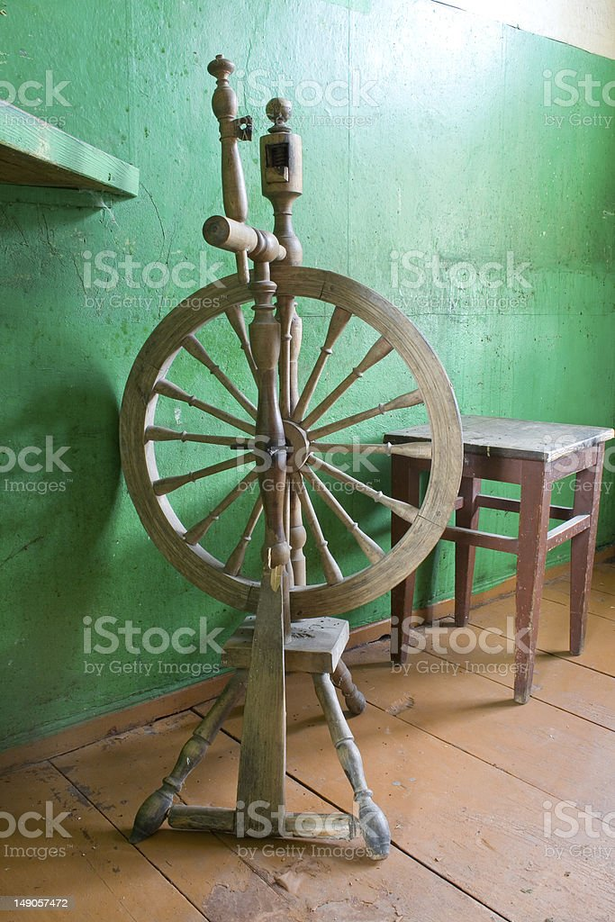 The distaff. royalty-free stock photo
