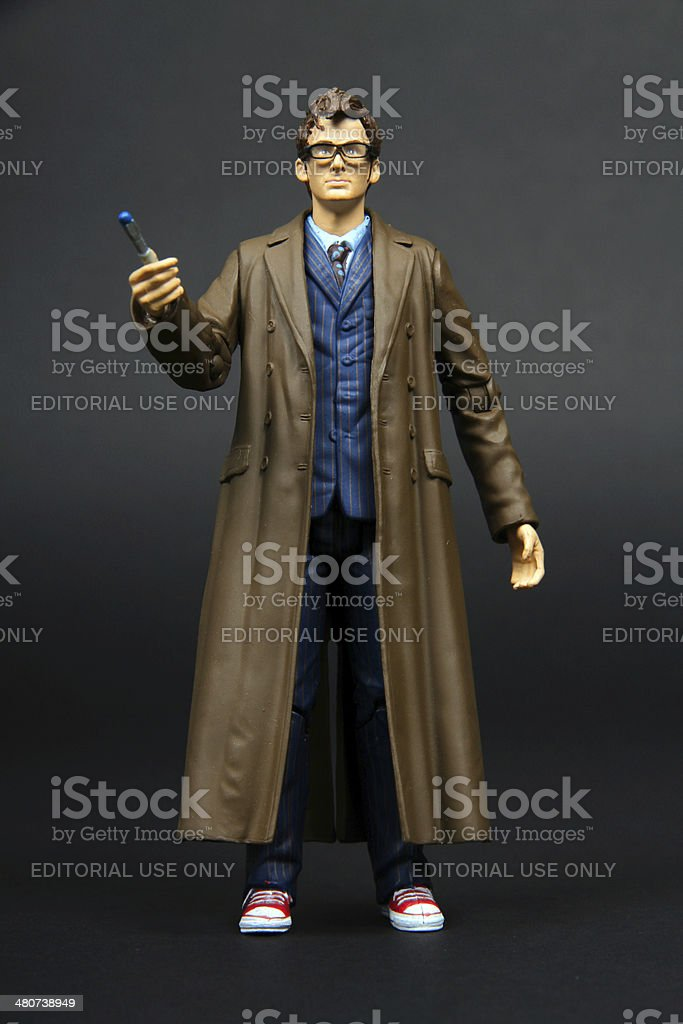The Doctor Alone stock photo