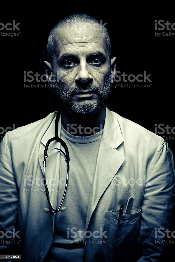 the doctor stock photo