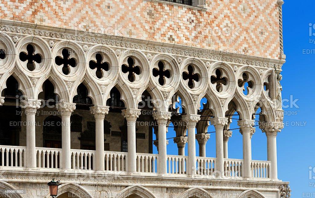 The Doge Palace - Venice Italy stock photo