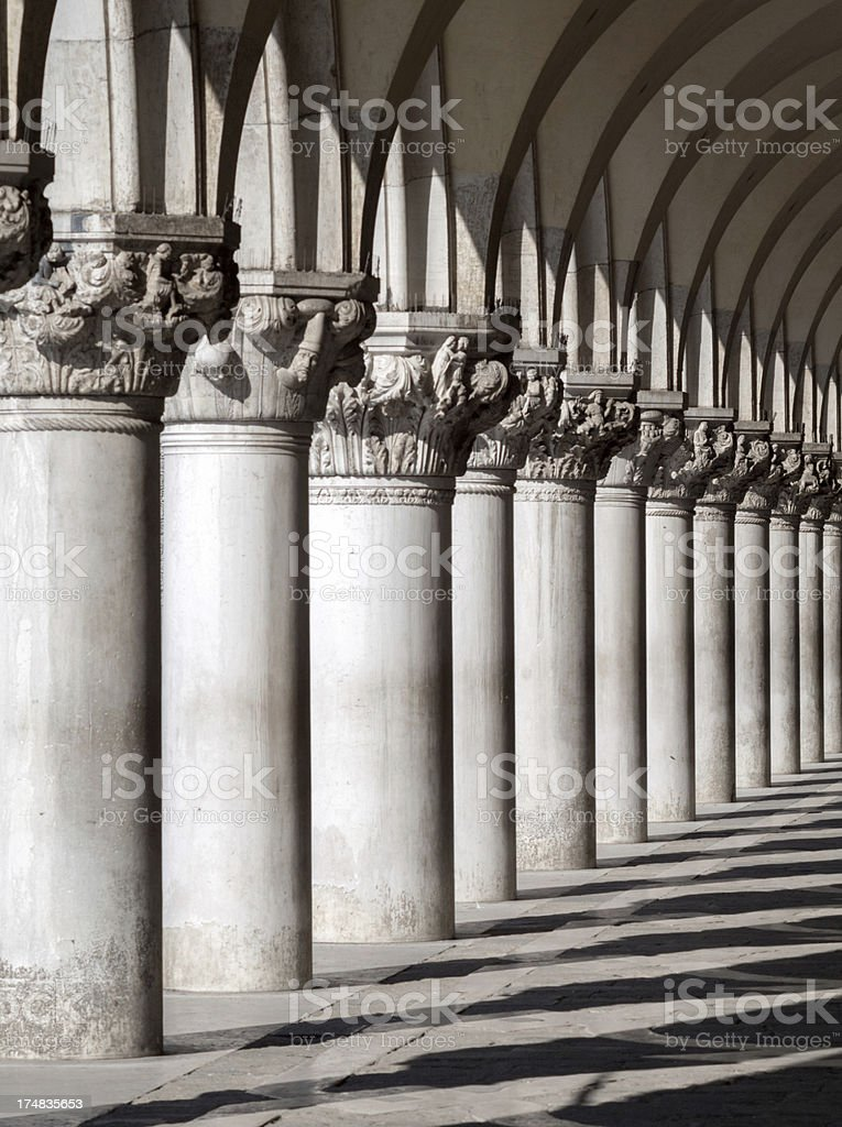 The Doge's Palace stock photo