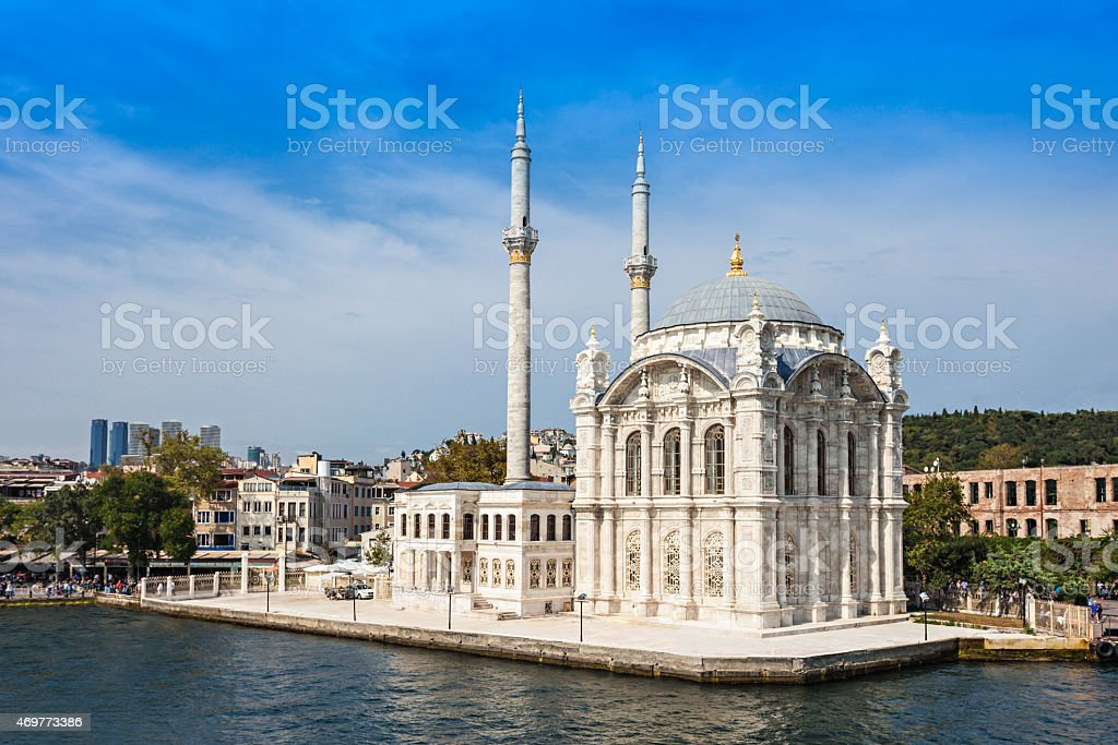 The Dolmabahce Mosque stock photo
