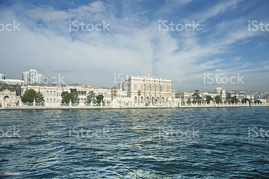 Der Dolmabahce-Palast, istanbul. – Foto