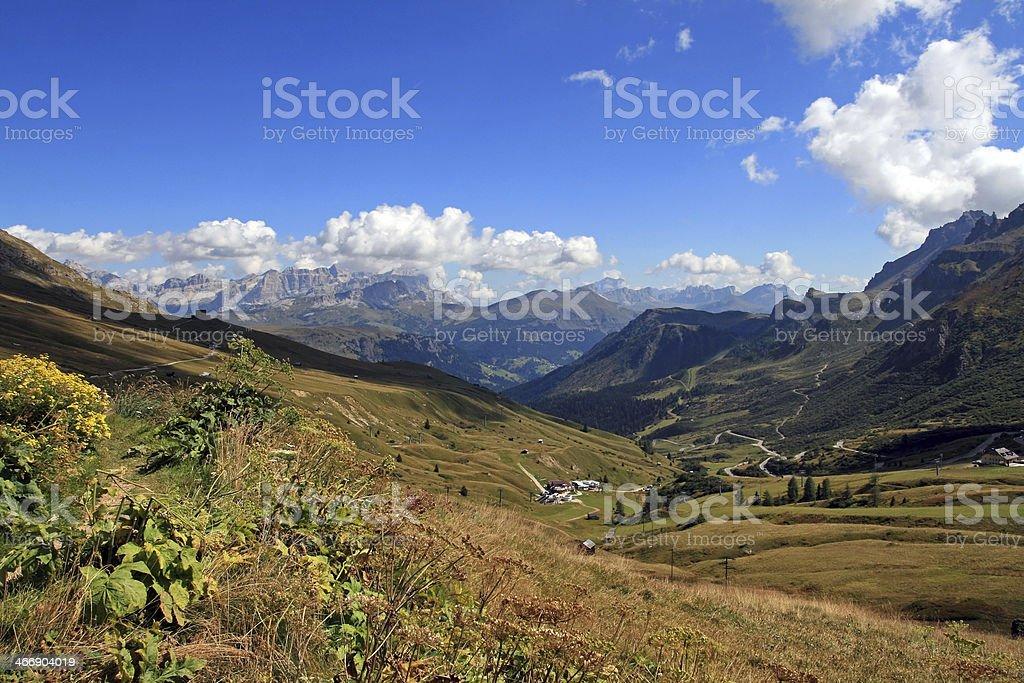 the Dolomites stock photo