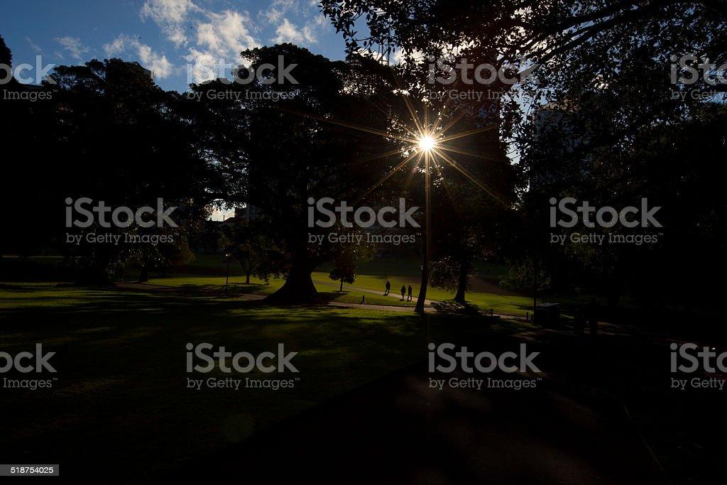 The Domain, Sydney, Australia royalty-free stock photo