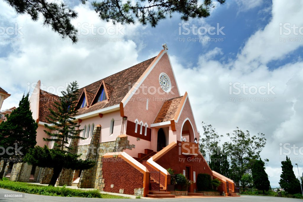 The Domaine de Marie in Dalat stock photo
