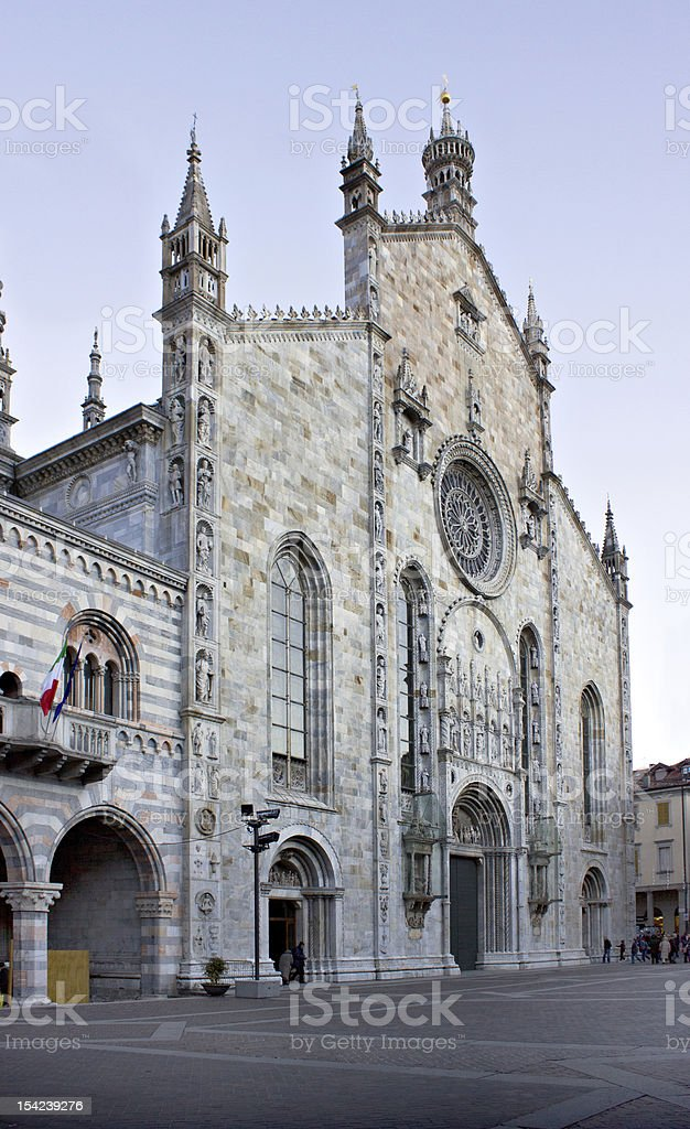 The dome, Como (IT) - Europe stock photo
