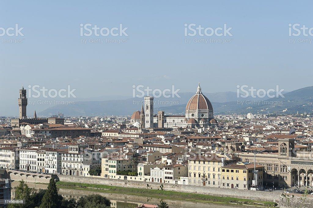 The Dome of Santa Maria del Fiore, florence stock photo