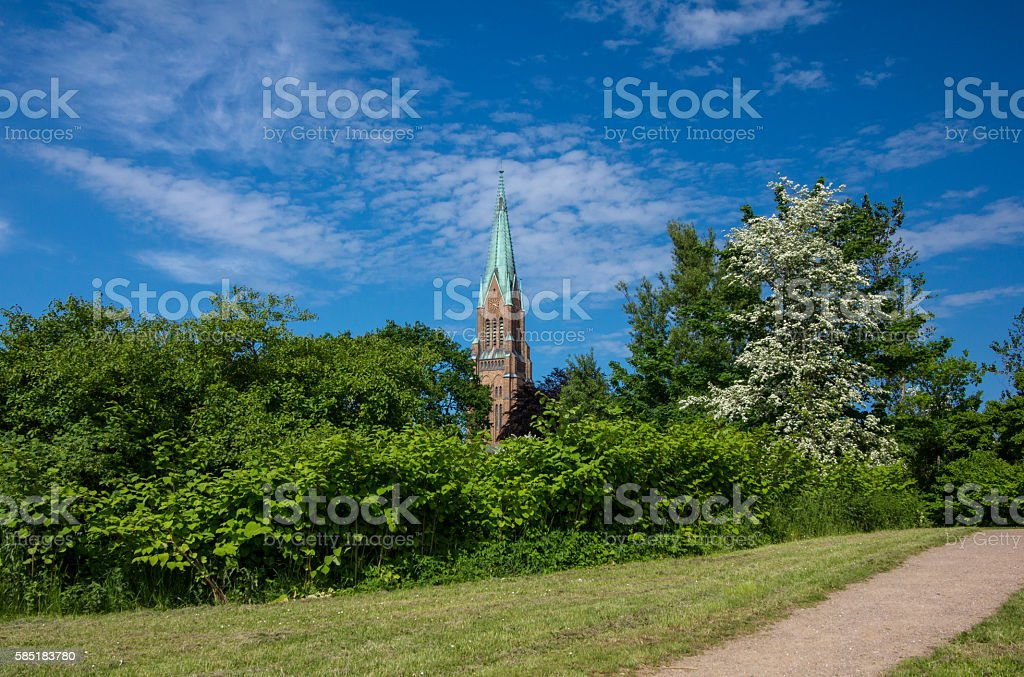 The dome of Schleswig, germany. stock photo