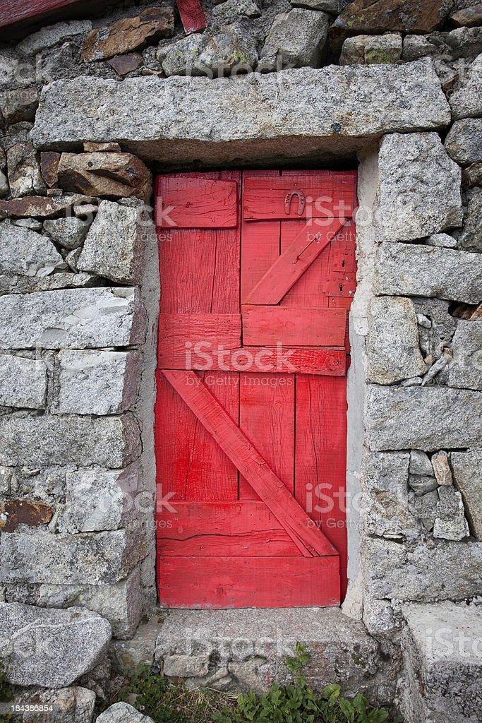 The Door to Happiness stock photo