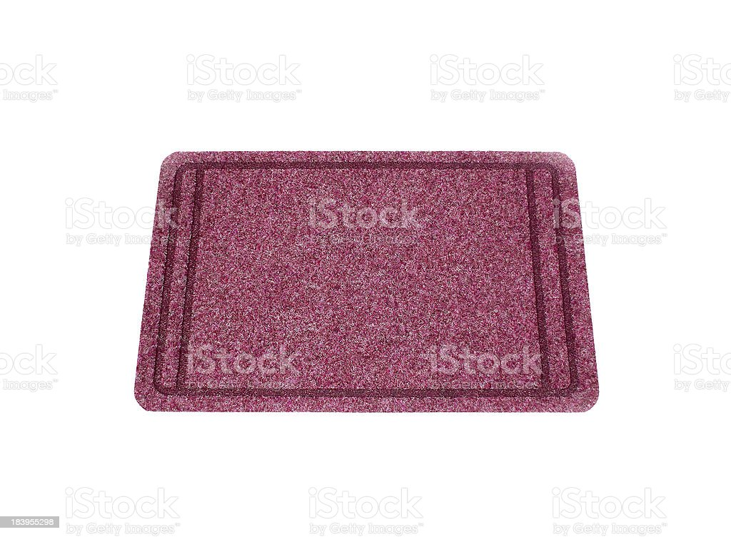 The Doormat isolated on white background royalty-free stock photo
