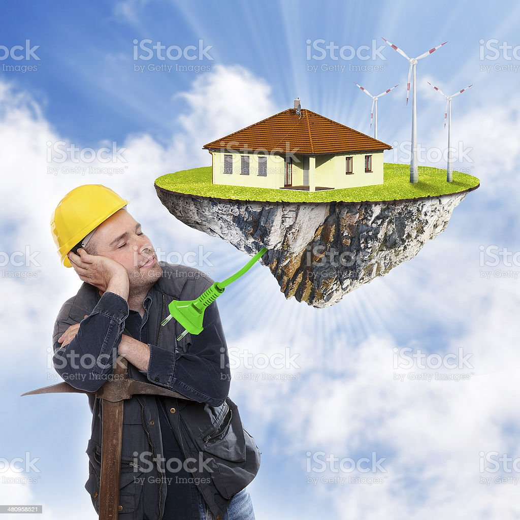 The Dream. royalty-free stock photo