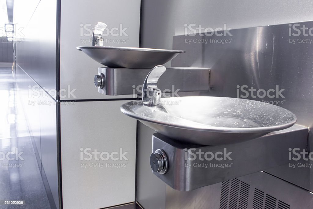 The Drinking fountain stock photo