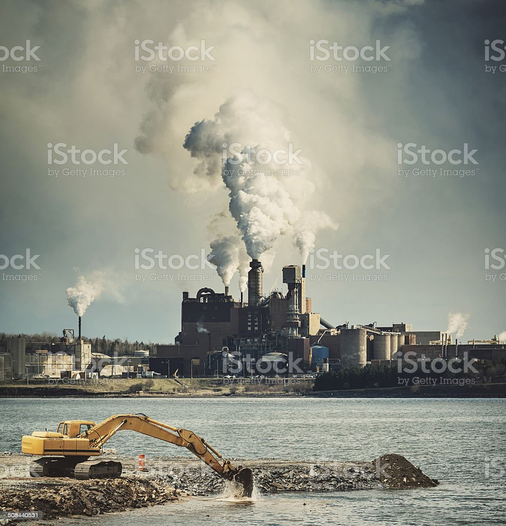 The Drone of Industry stock photo