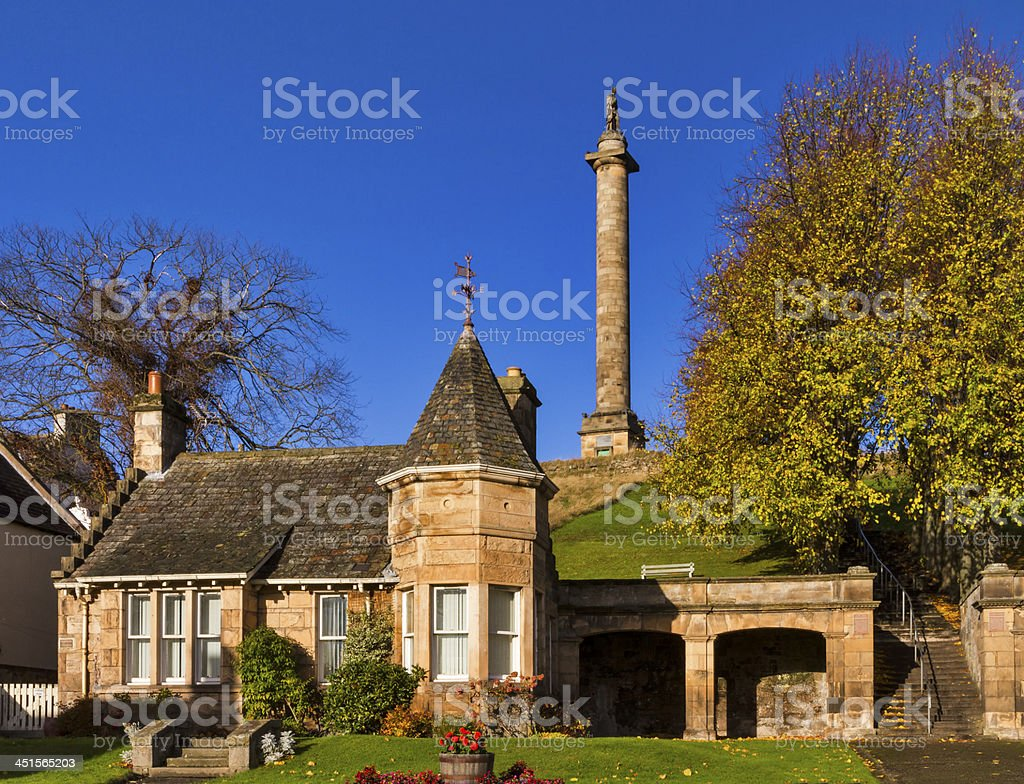 The Duke in Autumn. stock photo