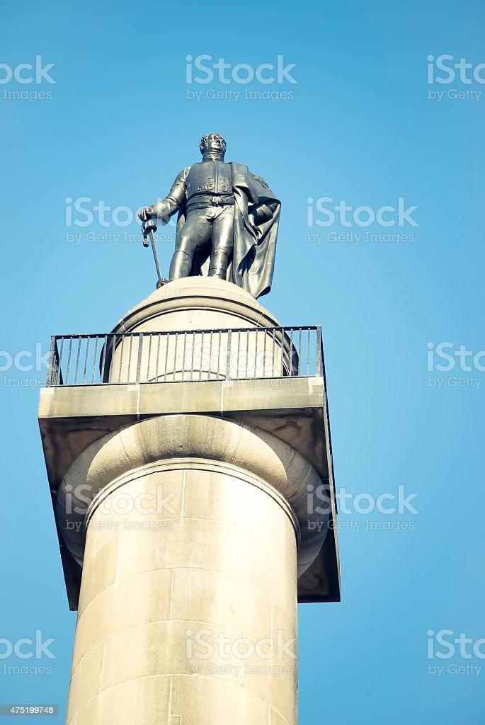The Duke of York Column, London, UK stock photo