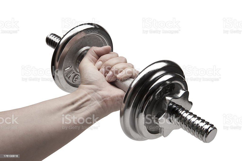 The Dumbbell royalty-free stock photo