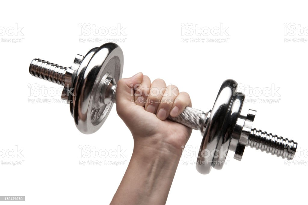 The Dumbbell stock photo