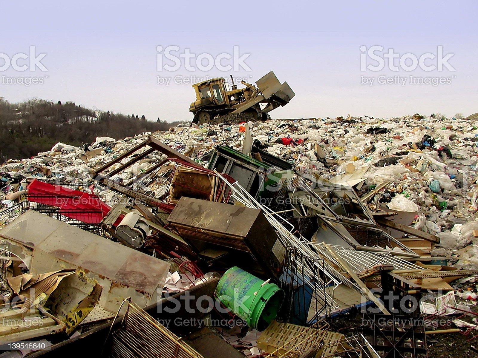 The Dump royalty-free stock photo