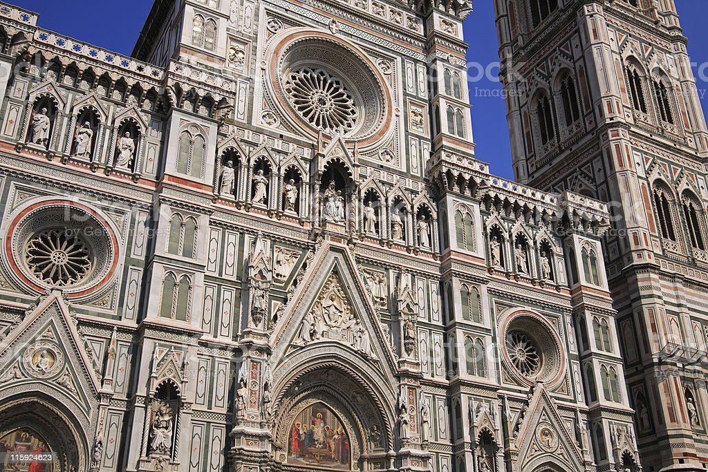 The Duomo, Florence, Italy royalty-free stock photo