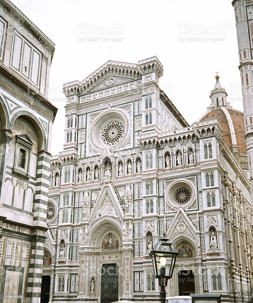 The Duomo, Florence (Firenze) royalty-free stock photo
