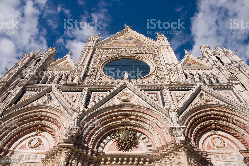 The Duomo Siena royalty-free stock photo