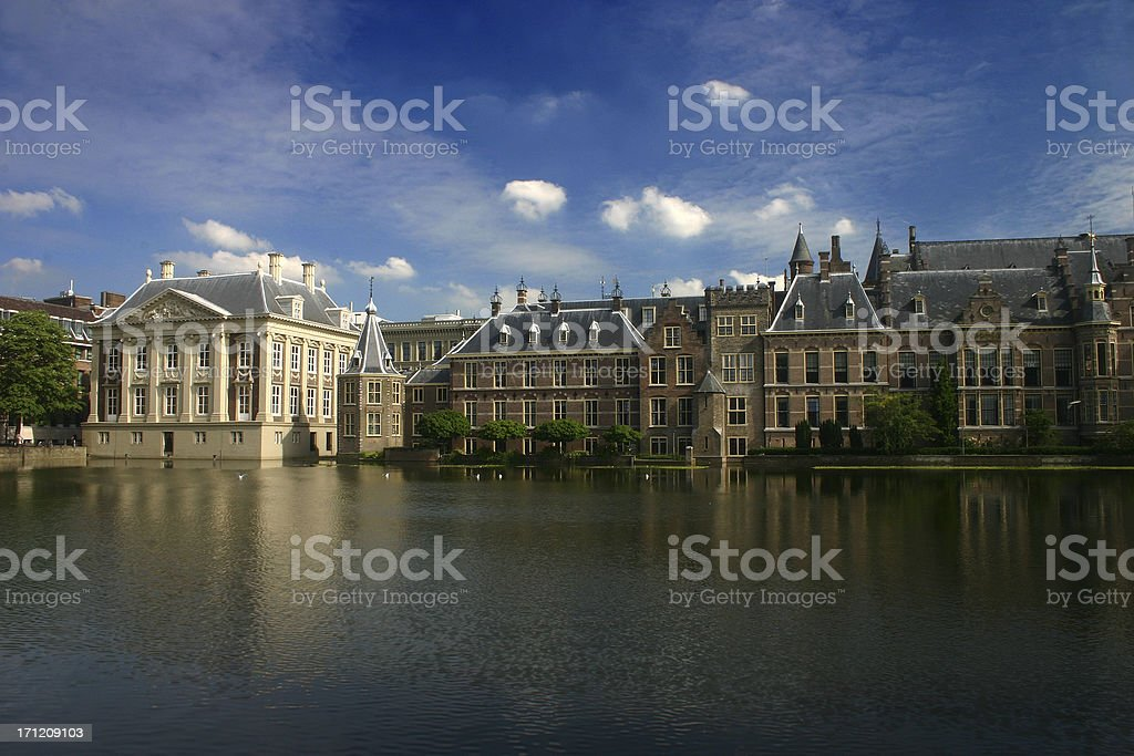 The Dutch Parliament royalty-free stock photo