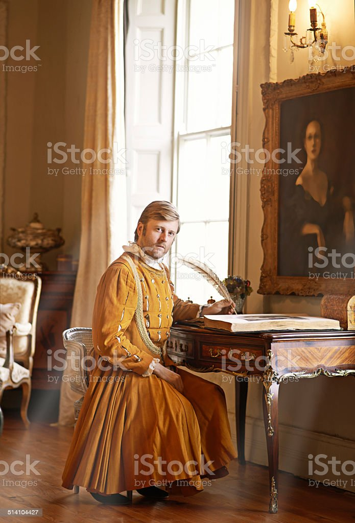 The duties of nobility stock photo