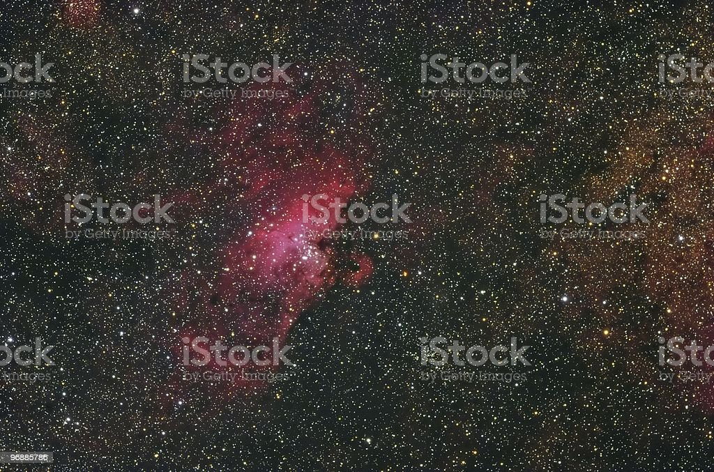M16 - The Eagle Nebula stock photo