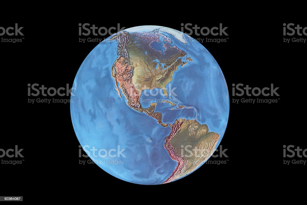 The Earth royalty-free stock photo