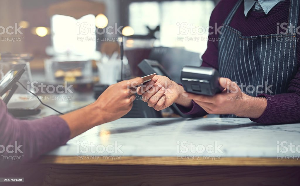 The easier way to pay stock photo