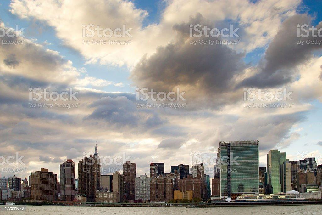 The East Side, NY stock photo