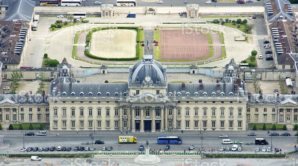 The Ecole Militaire stock photo