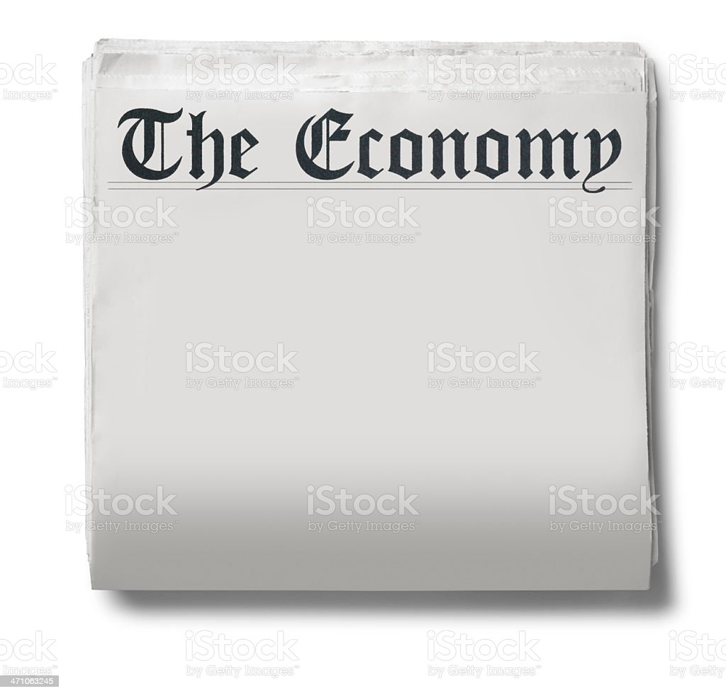 The Economy royalty-free stock photo