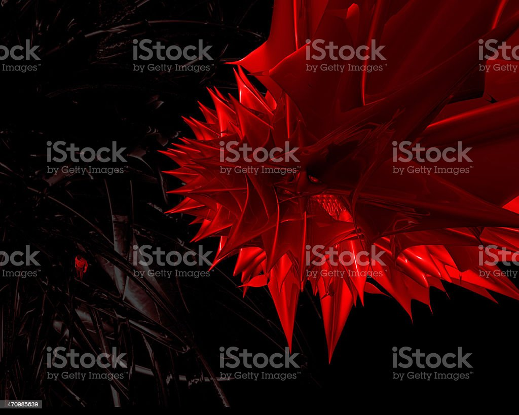 The Edge of Hell royalty-free stock photo