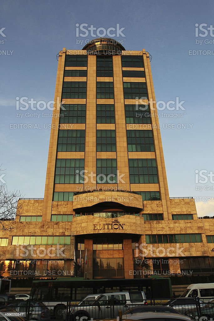 The Edition Otel,istanbul royalty-free stock photo